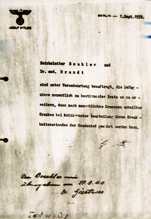 Adolf-hitler-letter-authorising-mercy-killing-1-sept-1939